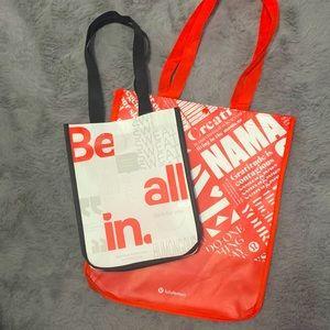 🚨PRICE DROP🚨 Lululemon Reusable Bags 💼